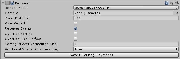 Editor Script to save UI prefab during Playmode in Unity – Rudolf's